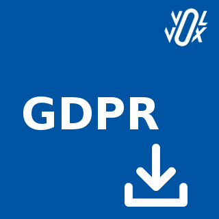 Icon: GDPR Personal data extraction